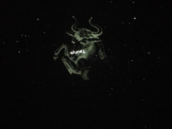 ภาพฉายดาว