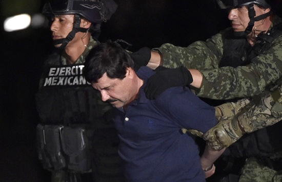 Guzman flown back to prison he escaped from