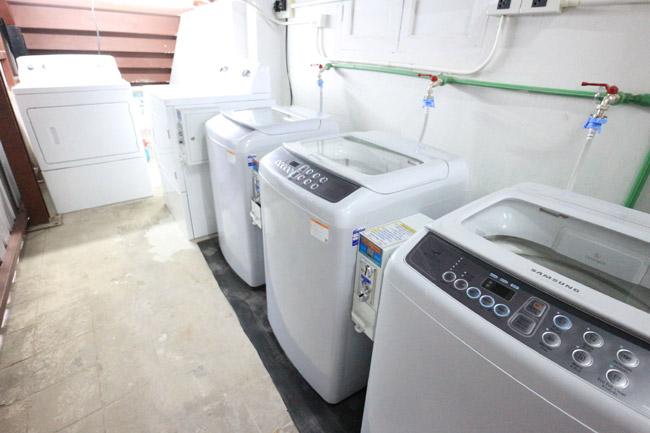 รายได้เสริมจากบริการเครื่องซักผ้า