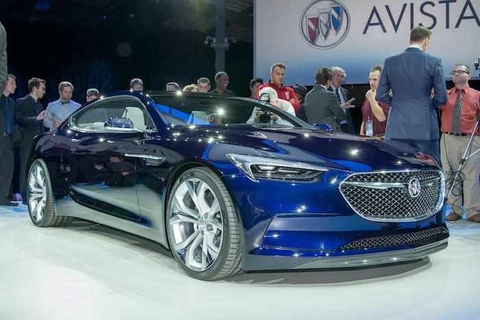 Buick Avista Concept สปอร์ต 2+2 ที่นั่งคันสวย มาพร้อมเครื่องยนต์วีุ6 เทอร์โบ ที่มีกำลังมากกว่า 400 แรงม้าแต่ตอนนี้ยังเป็นต้นแบบ ไม่มีการผลิตจริง