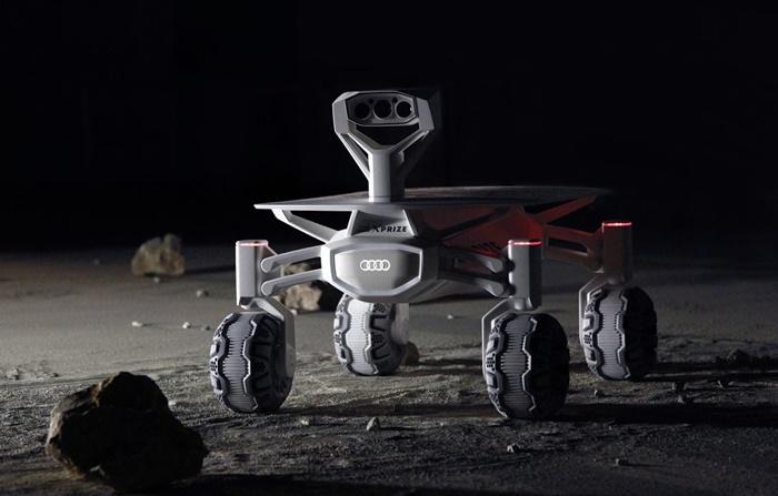 ยานยนต์ Audi พร้อมลุยดวงจันทร์