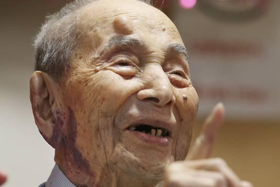 ชายอายุยืนที่สุดในโลกเสียชีวิตแล้วด้วยวัย 112 ปีในญี่ปุ่น