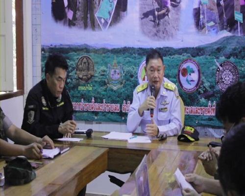ชุดพยัคฆ์ไพร บุกจับผู้บุกรุกเขตป่าสงวน ในอ.ขลุง จันทบุรี