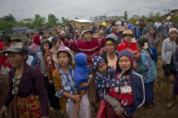 <br><FONT color=#000033>Agence France-Presse/Ye Aung Thu.</font></b>