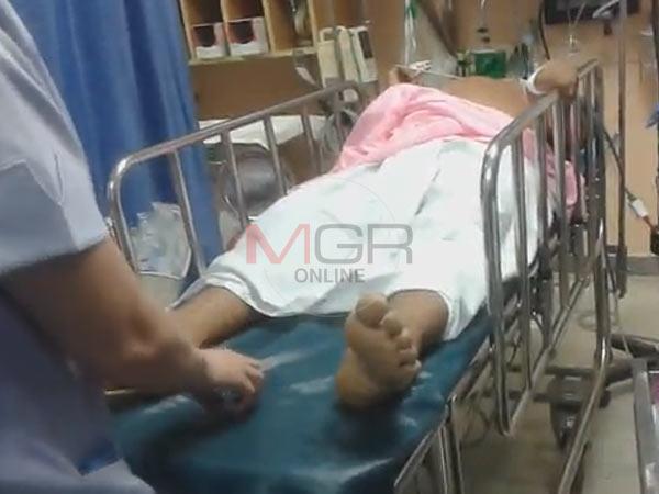 คนร้ายซุ่มยิงผู้ใหญ่บ้านใน อ.ควนขนุน จ.พัทลุงเสียชีวิต ขณะนำส่งโรงพยาบาล