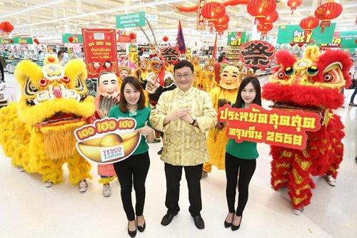 ยักษ์ค้าปลีกทุ่มงบชิงเค้ก ปลุกกำลังซื้อตรุษจีน 5 หมื่นล้าน