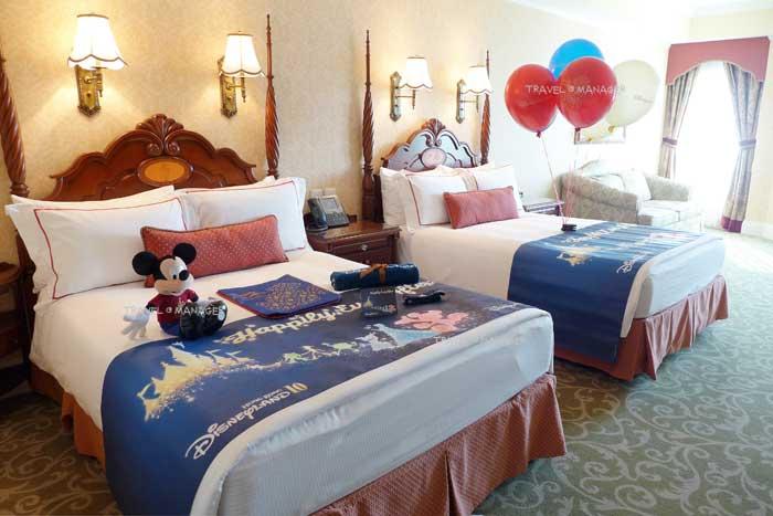 """โรงแรมฮ่องกงดิสนีย์แลนด์ จัดห้องพักพิเศษในธีม """"Happily Ever After"""""""