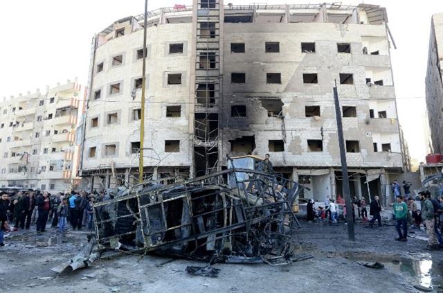 """""""ไอเอส""""ก่อเหตุโจมตี  ใกล้ๆ วิหารสำคัญของชีอะห์ในกรุงดามัสกัส  ทางการซีเรียระบุตายอย่างน้อย 45 คน เจ็บ 110"""