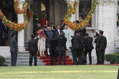 นายกฯ ต้อนรับรอง ปธน.อินเดีย ในรอบ 50 ปี ก่อนครบรอบ 70 ปี ความสัมพันธ์ทางการทูต