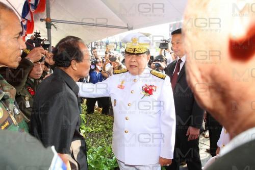 พล.อ.ประวิตร วงษ์สุวรรณ รองนายกรัฐมนตรีและรัฐมนตรีว่าการกระทรวงกลาโหม (แฟ้มภาพ)