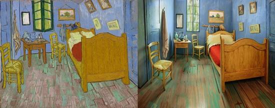 Sleep in a replica of Van Gogh's bedroom for $10