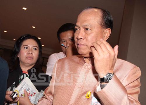 พล.อ.อนุพงษ์ เผ่าจินดา รัฐมนตรีว่าการกระทรวงมหาดไทย(แฟ้มภาพ)