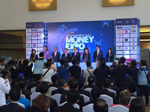 เชื่องาน MONEY EXPO PATTAYA 2016 ยอดธุรกรรม 1.5 หมื่นล้าน