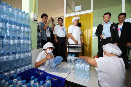 เยี่ยมชมกระบวนการผลิตน้ำดื่ม