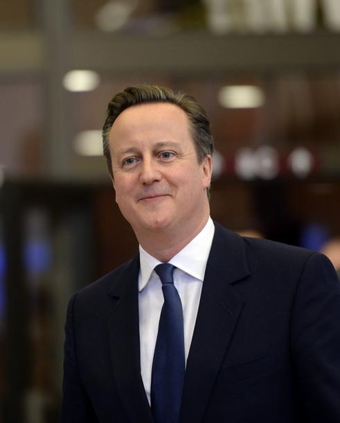 นายกรัฐมนตรี เดวิด คาเมรอน แห่งอังกฤษ