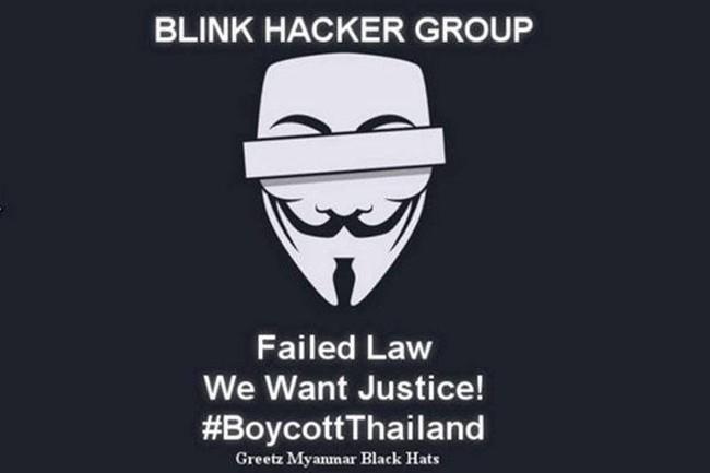 แฮกเกอร์พม่าโผล่อ้างโจมตีเว็บไซต์ไทยประท้วงโทษประหารคดีเกาะเต่า