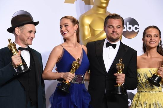 Winners in all Oscars categories