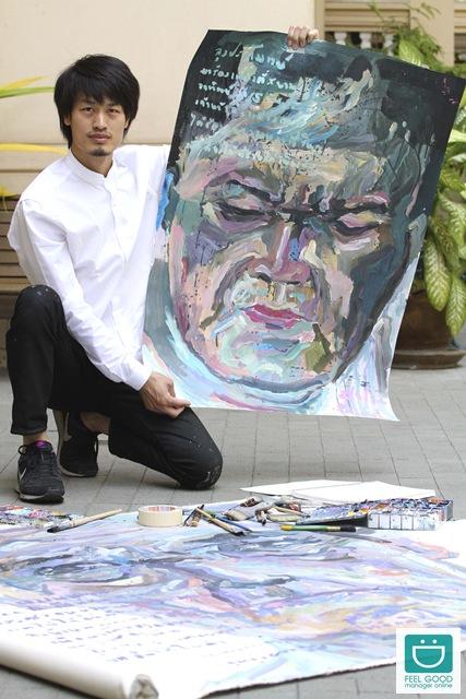 """ฮีโร่ของคนไร้บ้าน """"ไพโรจน์ พิเชฐเมธากุล"""" ศิลปินไทยเปลี่ยนโลกด้วยพู่กัน!"""