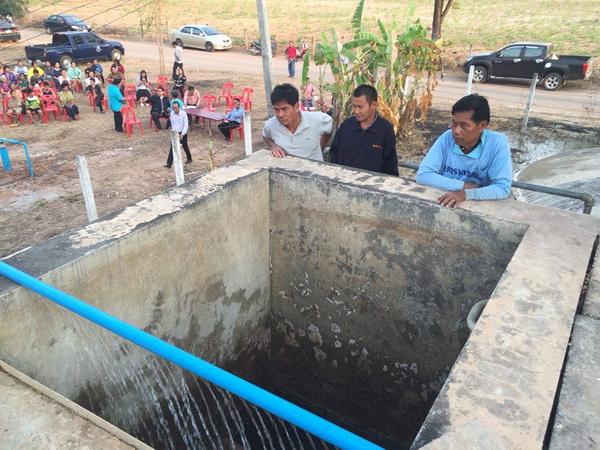 ชาวเมืองน้ำดำเฮ! มีน้ำประปาใช้หลังขาดแคลนกว่า 4 เดือน