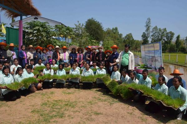 ชูโรงเรียนปอแดงวิทยานำร่องทำเกษตรอินทรีย์ช่วงปิดเทอม