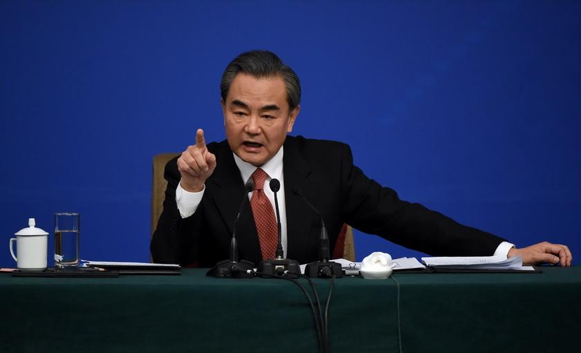 หวัง อี้ รัฐมนตรีกระทรวงการต่างประเทศจีน
