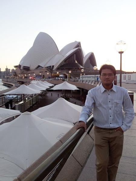 ณ  Opera House ที่ Sydney Harbour