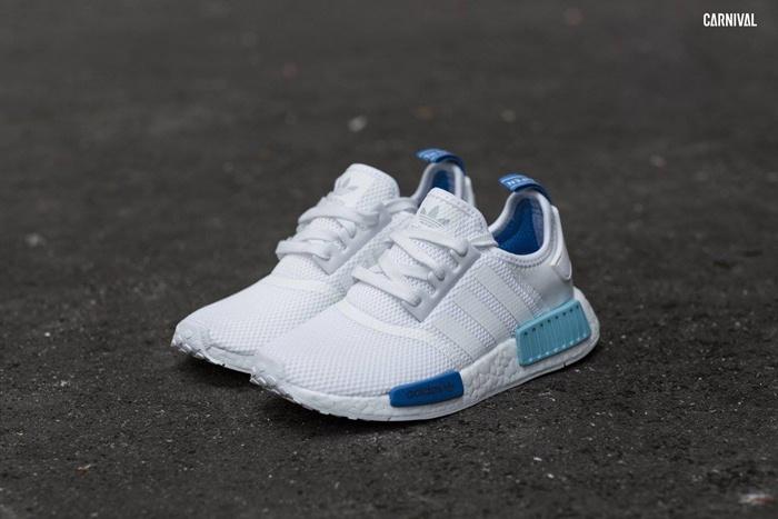 Adidas Originals NMD R1 (Women) City Pack - White, Blue