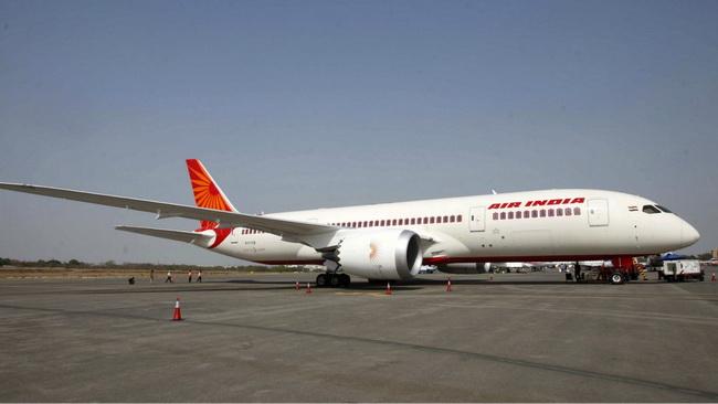 (แฟ้มภาพ) เครื่องบินของสายการบินแอร์อินเดีย