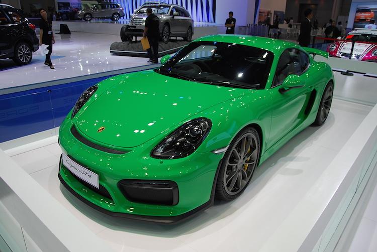 สุดติ่ง!!! ปอร์เช่ เคย์แมน GT4
