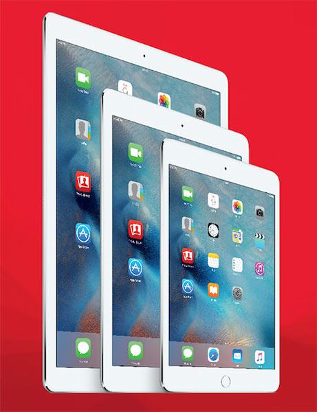 ทรูมูฟ เอช จัดแพกเกจ iPad Family ลดสูงสุด 6,200 บาท