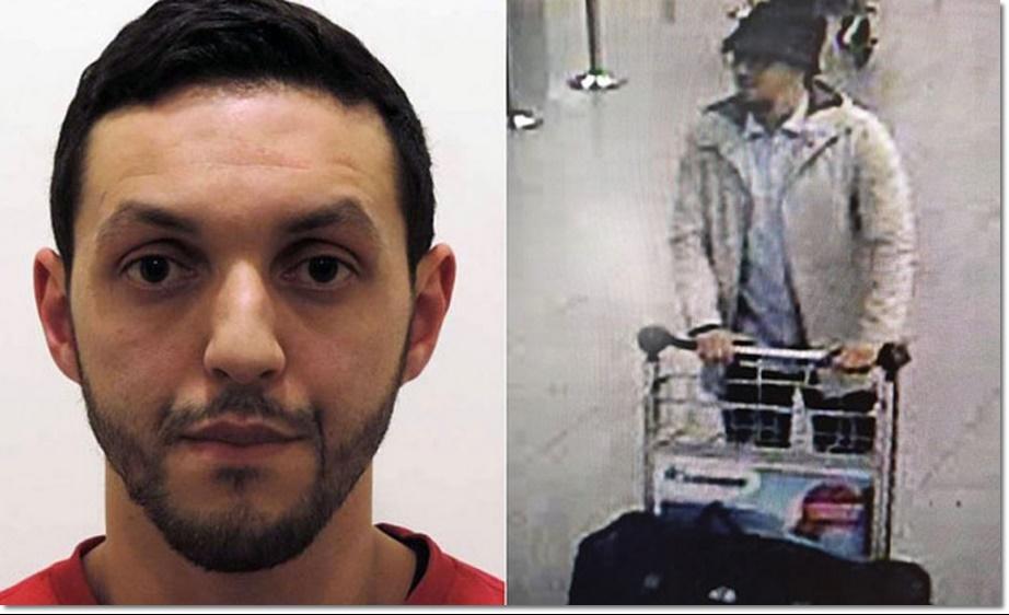 """เบลเยียมชี้ตัว """"มือบึ้มชุดชาวสวมหมวก"""" แฉเคยดอดเข้าอังกฤษก่อนโจมตี - สนามบินบรัสเซลส์ปิดยาวถึงอังคาร"""