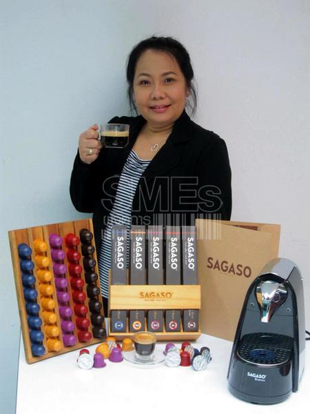 ภัทรวดี ปรานประวิตร เจ้าของธุรกิจกาแฟแคปซูล Sagaso