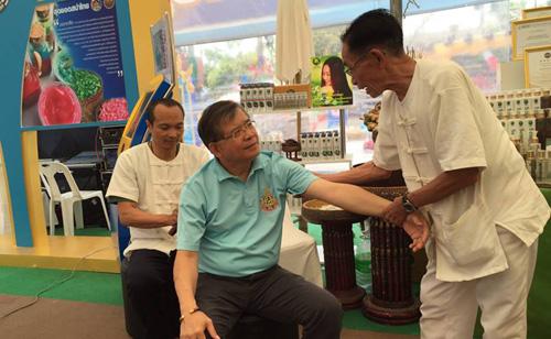กรมพัฒน์เชิญชวนเที่ยวงานกาชาด ชูสุดยอดเจ้าตำหรับนวดภูมิปัญญาไทย