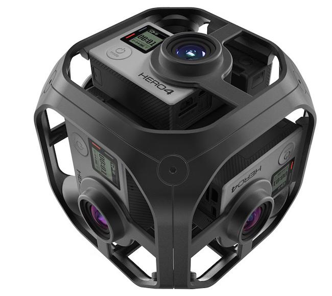 GoPro แจ้งเกิดชุด rig รุ่นเล็กใหม่เพื่อการถ่ายภาพ VR