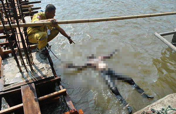 ศพหนุ่มท้ายเรือด่วนเจ้าพระยาลอยติดท่าสะพานพุทธ ตร.คาดพลัดตกน้ำดับ