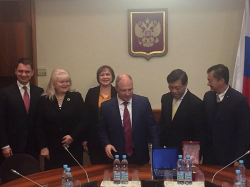 ประชุมรัฐสภาภูมิภาคยูเรเซียครั้งที่ 1 ถกสันติภาพร่วมมือการค้า-ท่องเที่ยว-พลังงาน
