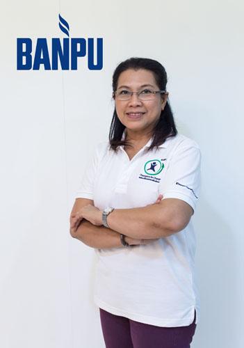 นางอุดมลักษณ์ โอฬาร ผู้อำนวยการสายอาวุโส-องค์กรสัมพันธ์ บริษัท บ้านปู จำกัด (มหาชน)