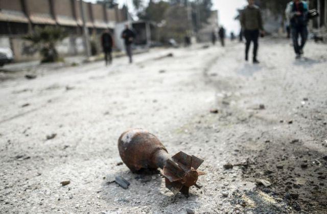 """ตุรกียิงปืนใหญ่ถล่ม """"ไอเอส"""" ในภาคเหนือของซีเรีย สังหารนักรบ 55 ราย"""