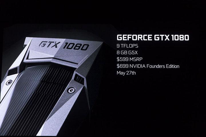 """แรง! Nvidia เปิดตัวการ์ดจอซีรีส์ใหม่ """"GTX 1080"""""""