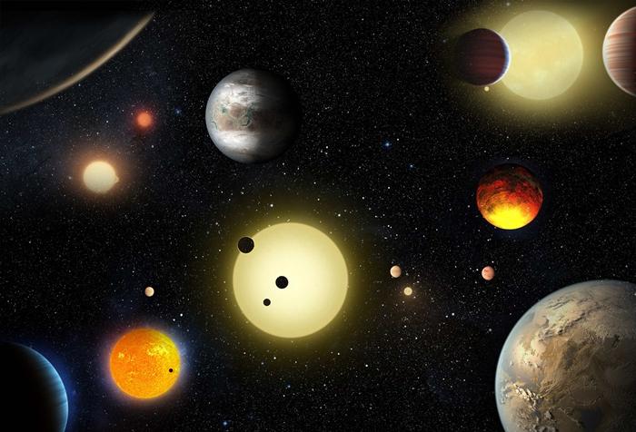 ภาพจำลองดาวเคราะห์นอกระบบ (W. Stenzel/NASA/Handout via REUTERS)