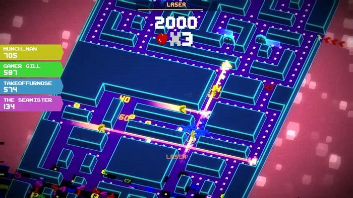 """""""Pac-Man 256"""" ชวนเพื่อนวิ่งกินจุดบนคอนโซล"""