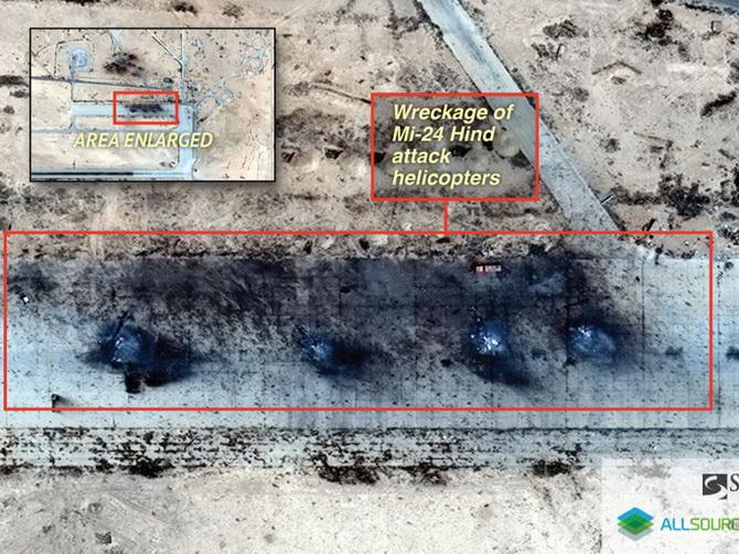 บ.ข่าวกรองสหรัฐฯ แฉฐานทัพอากาศรัสเซียในซีเรียโดน IS ถล่มเละ เฮลิคอปเตอร์-รถบรรทุกเสียหายยับ
