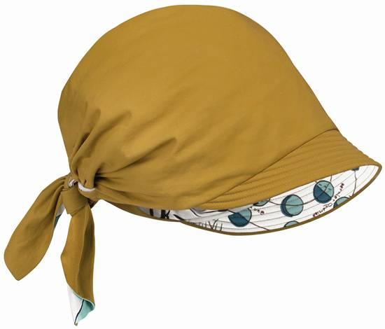 ผ้าโพกผมผ้าฝ้ายกันน้ำบุผ้าลาย Boussole
