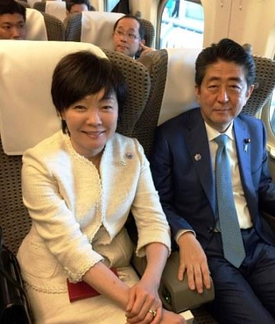 คาวาอี้! ภริยานายกฯญี่ปุ่นออกแบบสติกเกอร์ LINE รูปตัวเอง