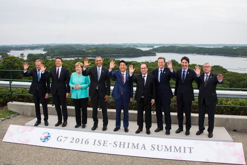 """สื่อจีนเตือนผู้นำกลุ่ม G7 อย่า """"ก้าวก่าย"""" ข้อพิพาททะเลจีนใต้"""