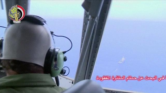 ปฏิบัติการค้นหาเครื่องบินของสายการบินอียิปต์แอร์ ที่ตกในทะเลเมดิเตอร์เรเนียน
