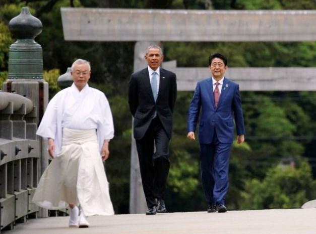 โอบามา-อะเบะ ผู้ชนะตัวจริงจากเวทีประชุม G7