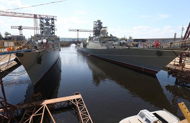 รัสเซียปล่อยลงน้ำเรือฟริเกตเวียดนามลำที่ 4 ส่งมอบครบปลายปีนี้