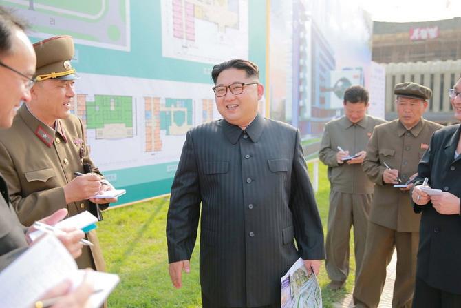 คิมจองอึน ผู้นำเกาหลีเหนือ