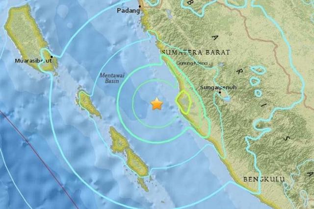แผ่นดินไหวแรงระดับ 6.5 นอกชายฝั่งสุมาตราวันนี้ เจ็บ 8